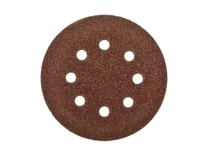 Шлифкруг 1шт. Velcro Стандарт Зубр d=125мм, K 80, 8 отв.
