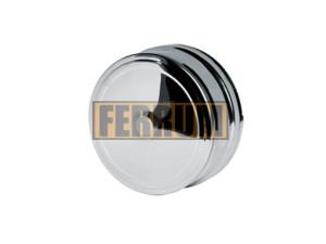 Заглушка внешняя д/трубы, 430/0,5 мм, Ф202, нижняя Ferrum