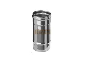 Дымоход 0,25м, 430/0,8 мм, Ф115 Ferrum