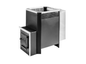 Печь банная под навесной бак с прочистной дверцей Радуга ПБ-31Б сталь 8 мм