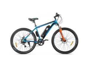 Электровелосипед (велогибрид) черно-синий Eltreco XT 600 D