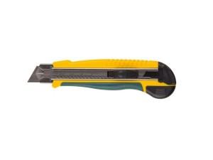 Нож с сегментированным лезвием 25мм , автостоп Kraftool