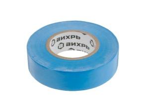 Изолента ПВХ синяя 19мм х20м Вихрь